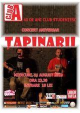 Concert Tapinarii in Club A din Bucuresti