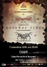 Concert Saturnus, October Tide si Forgotten Tomb la Bucuresti