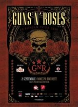 Ciuc Premium este berea oficiala a concertului Guns N Roses