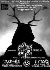Concert Attack Of The Mad Axeman in Irish & Music Pub Cluj