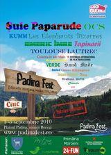Programul actualizat pentru Padina Fest