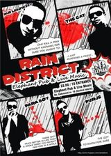 Concert Rain District in Pub Elephant din Bucuresti