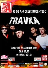 Concert Travka in Club A din Bucuresti