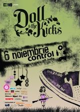 Concert Doll And The Kicks in club Control Bucuresti