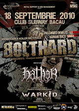 Concert Bolthard, Hathor si Warkid in Bacau