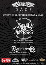 Concert Akral Necrosis in Club Daos din Timisoara