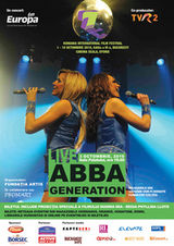 Concert Abba Generation  la Sala Palatului din Bucuresti