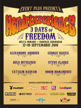 Hendrixperience, festival in Delta Dunarii