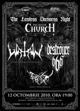 Watain si Destroyer 666 concerteaza la Bucuresti