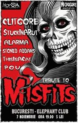 Concert tribut Misfits in Bucuresti