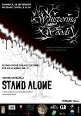 Concert Whispering Woods si Stand Alone in Flying Circus Cluj