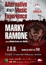 Concert Marky Ramone in Silver Church Bucuresti