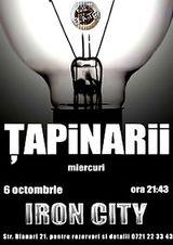 Concert Tapinarii in Iron City Bucuresti