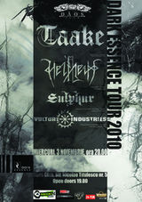 Concert Taake, Helheim si Vulture Industries in Timisoara