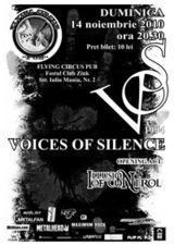 Concert Voices Of Silence si Illusion Of Control in Cluj Napoca