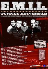 Concert E.M.I.L. in club Zodiar din Galati