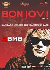 Concert tribut Bon Jovi cu BMB in Hard Rock Cafe Bucuresti