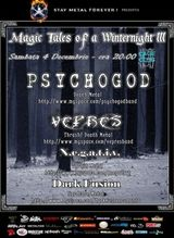 Magic Tales Of A Winternight III in Cage Club din Bucuresti
