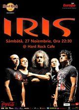 Concert Iris la Hard Rock Cafe Bucuresti