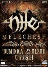 Concert Nile si Melechesh in Silver Church din Bucuresti