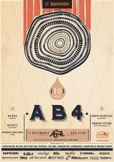 10 ani de AB4 in club The Ark Bucuresti