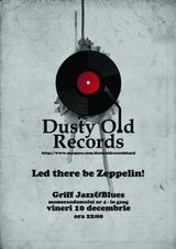 Concert tribut Led Zeppelin cu Dusty Old Records in Griff Jazz & Blues Cluj