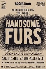 Concert Handsome Furs in Booha Bar din Cluj
