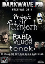 Darkwave Fest 3 la Bucuresti: Project Pitchfork si Rabia Sorda