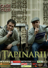 Concert Tapinarii in Cage Club Bucuresti
