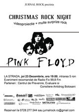 Christmas Rock Night cu Pink Floyd in Botosani