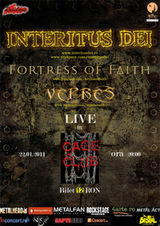 Concert Interitus Dei, Fortress Of Faith si Vepres in Cage Club