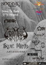 Concert Grimegod si True Mind in Rockstadt din Brasov