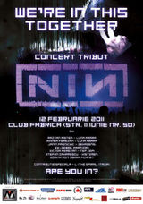 Nine Inch Nails: Live tribute in februarie la Club Fabrica din Bucuresti