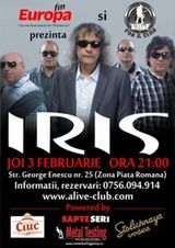 Concert Iris in Alive Club Bucuresti