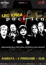 Concert Leo Iorga si Pacifica la Hard Rock Cafe Bucuresti