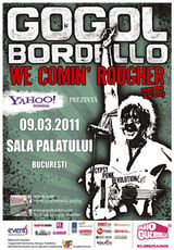 Concert Gogol Bordello la Sala Palatului