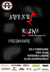 Concert Razna in club Underworld din Bucuresti