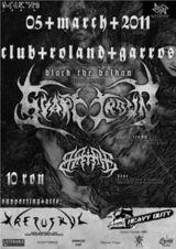 Concert Svart Crown, Bane si Krepuskul in Cluj-Napoca