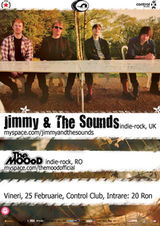 Concert Jimmy and the Sounds si The MOOoD in club Control Bucuresti