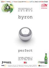 byron continua petrecerea de lansare a albumului Perfect in Kulturhaus