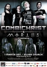 Concert Combichrist si Mortiis in Romania la The Silver Church