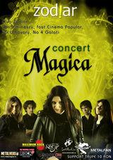 Concert Magica in club Zodiar din Galati