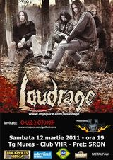 Concert Loudrage si Guillotine in Targu-Mures