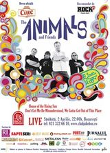 Concert The Animals la Bucuresti