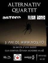 Concert Alternativ Quartet si Astero in club Control din Bucuresti