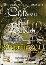 Concert Children Of Bodom si Ensiferum in aprilie 2011 la Bucuresti