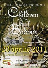 Concert Children Of Bodom si Ensiferum in aprilie 2011 la Bucuresti