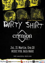 Concert Dirty Shirt si Crimson in Music Pub din Baia Mare