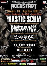 Concert Mastic Scum, Necrovile si multi altii in Rockstadt Brasov