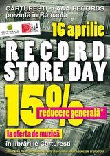 Record Store Day aduce concerte la Carturesti